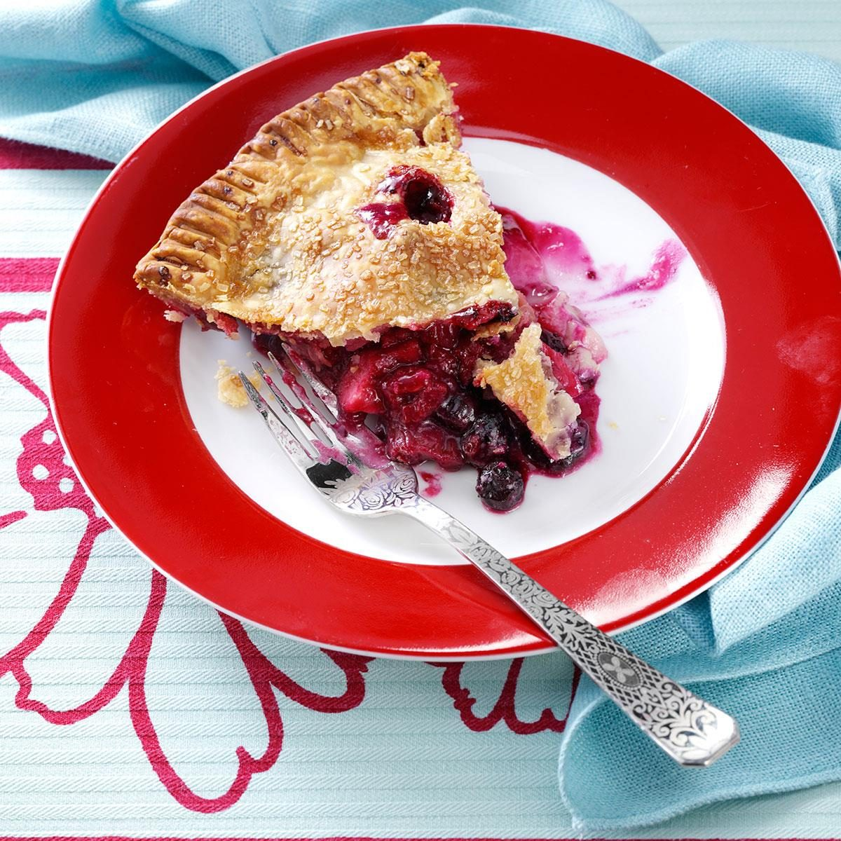 Four Fruit Pie Recipe Taste of Home