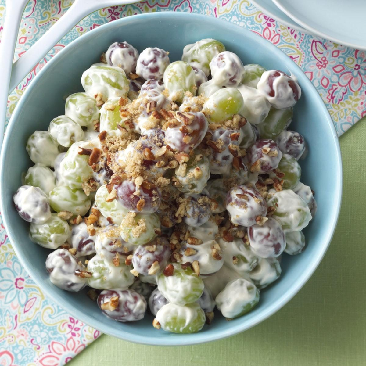 recipe: chicken macaroni salad with grapes [36]