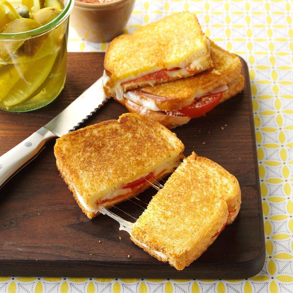 Pizza Sandwiches Recipe | Taste of Home