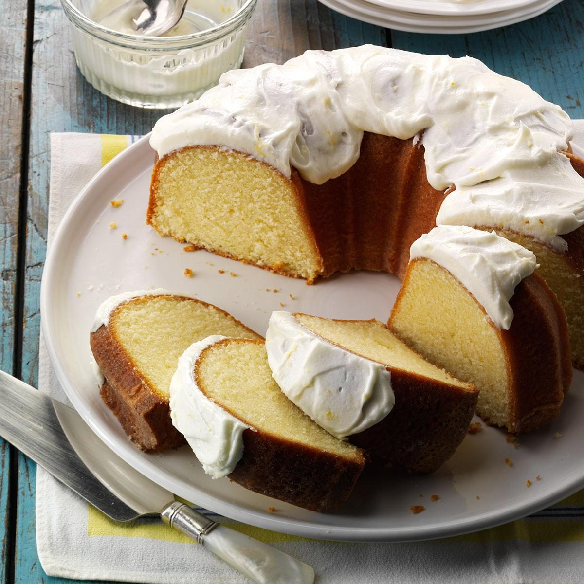 Make Vanilla Yogurt Pound Cake
