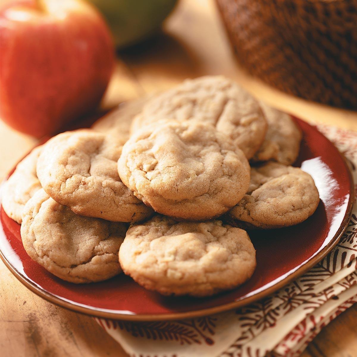 Apple peanut butter cookies recipe taste of home for What to make with apples for dessert