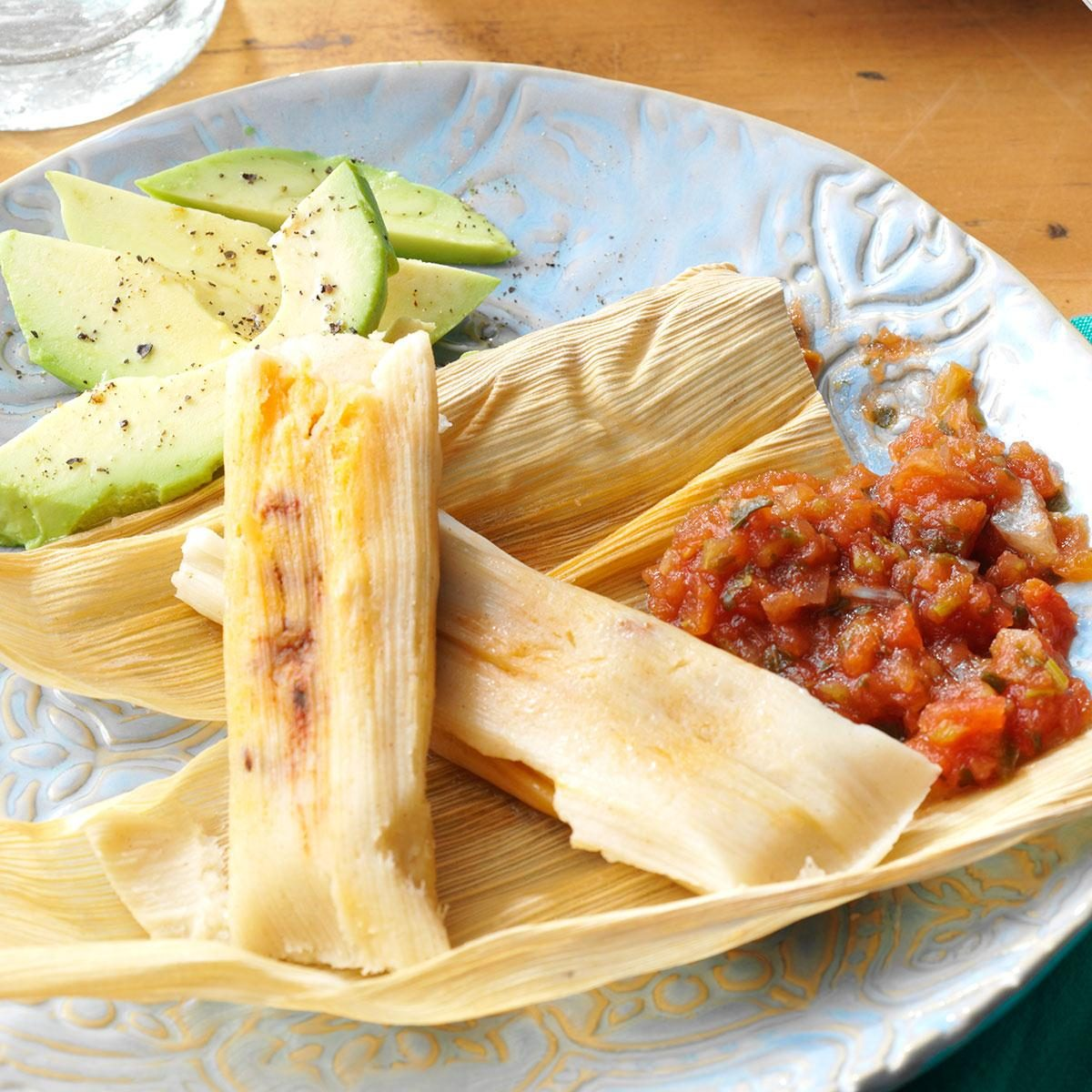 Mexican Tamales Recipe Taste Of Home