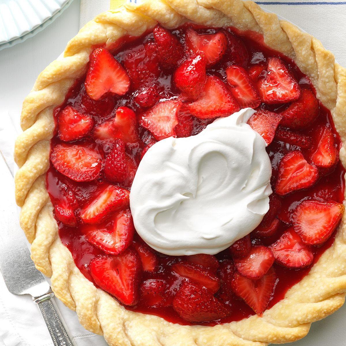 Old Fashioned Fresh Strawberry Pie Recipe