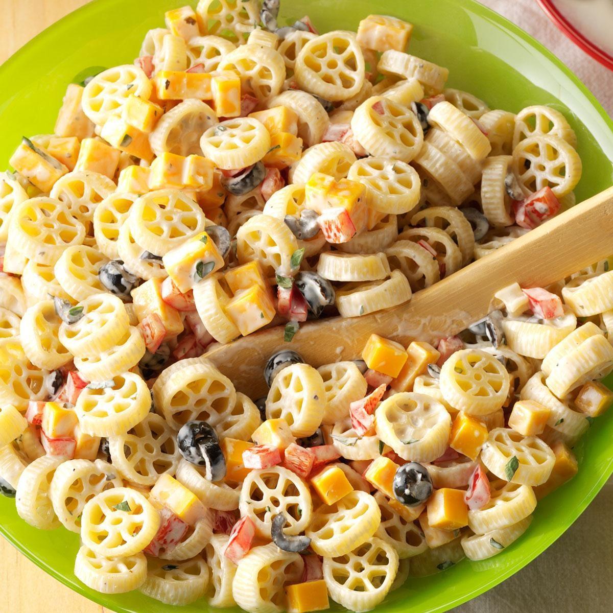 Wheely-Good Pasta Salad Recipe | Taste of Home