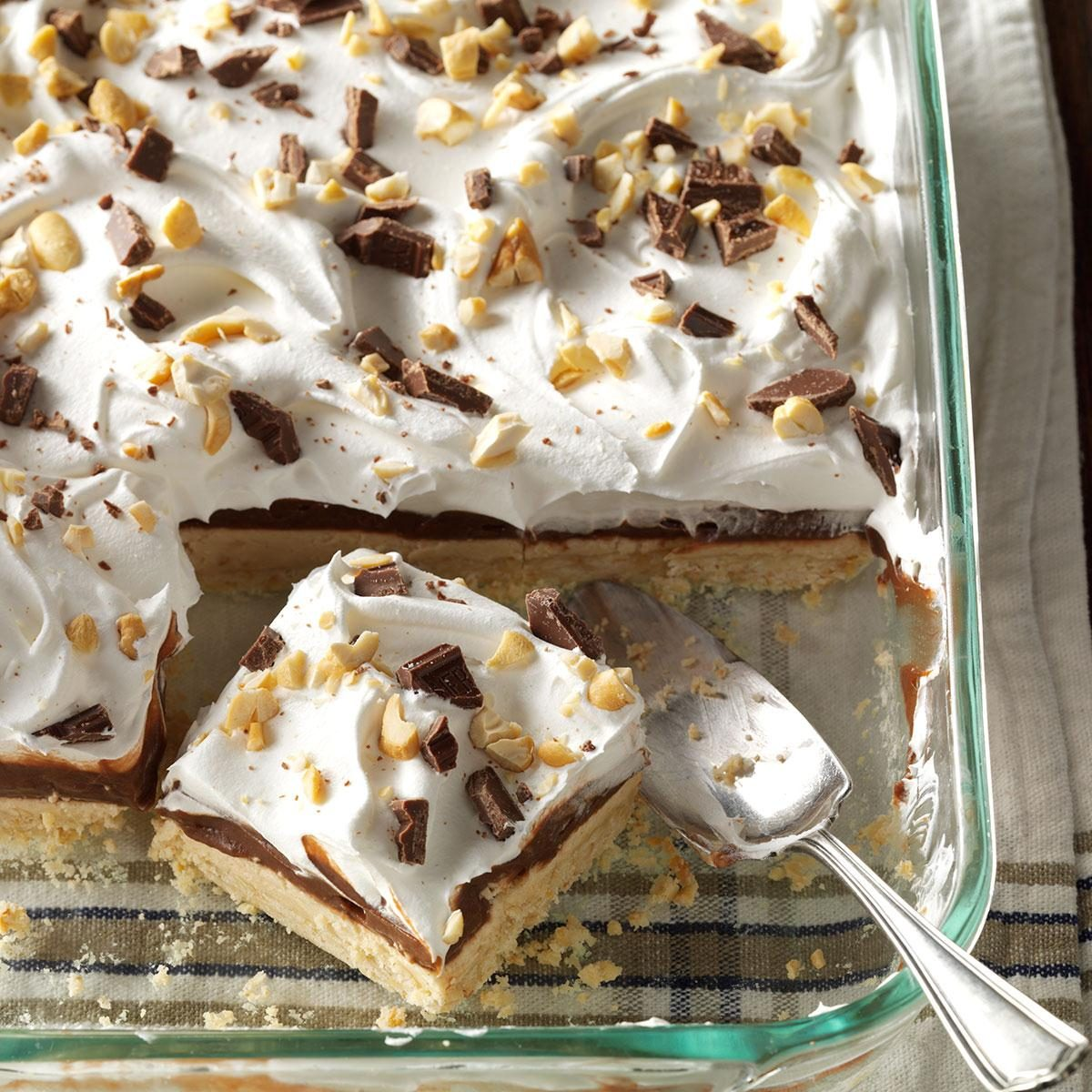 Peanut Butter Pudding Dessert Recipe