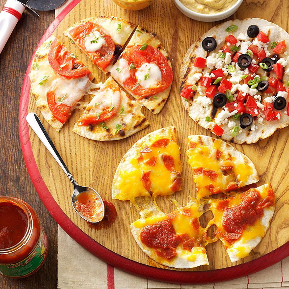Appetizer Pizzas Recipe