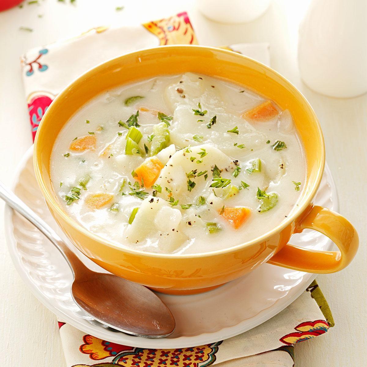 potato soup recipes hearty potato soup recipe taste of home
