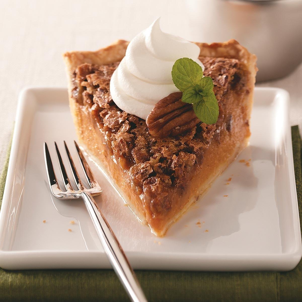 Thanksgiving Desserts Pecan Pie Pumpkin Pie More
