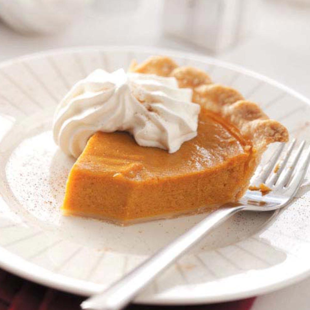 Cinnamon Pumpkin Pie Recipe