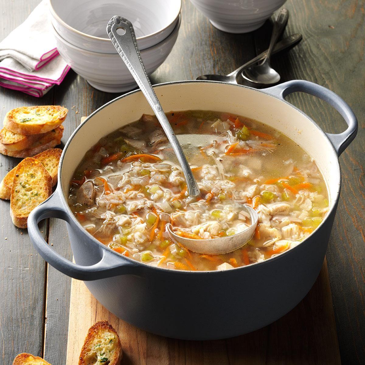 Turkey Soup Recipe Taste Of Home