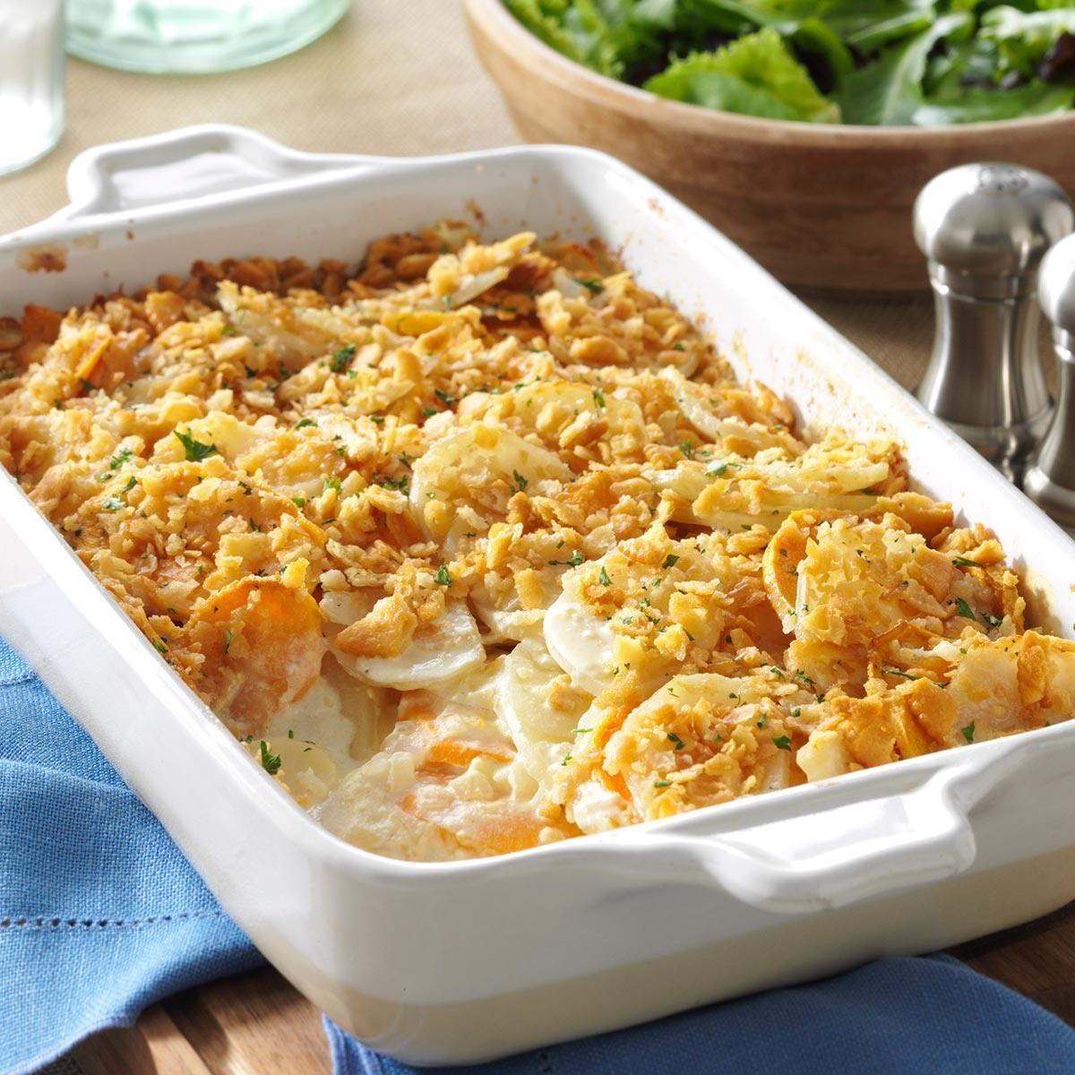 Potato Meal: Dijon Scalloped Potatoes Recipe