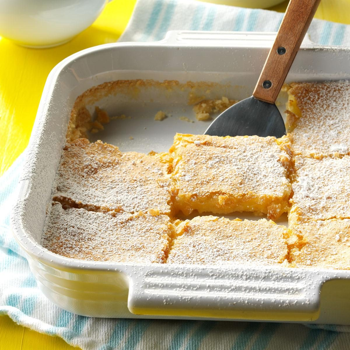 Lemon Bars Recipe Taste Of Home
