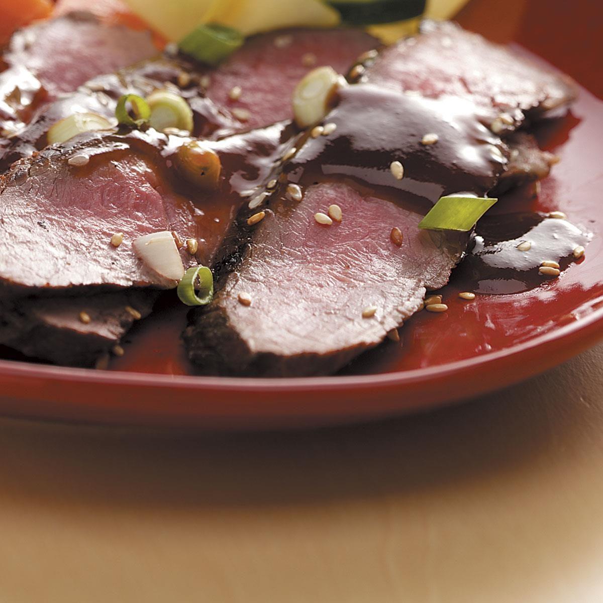 Contest-Winning Grilled Asian Flank Steak Recipe | Taste ...