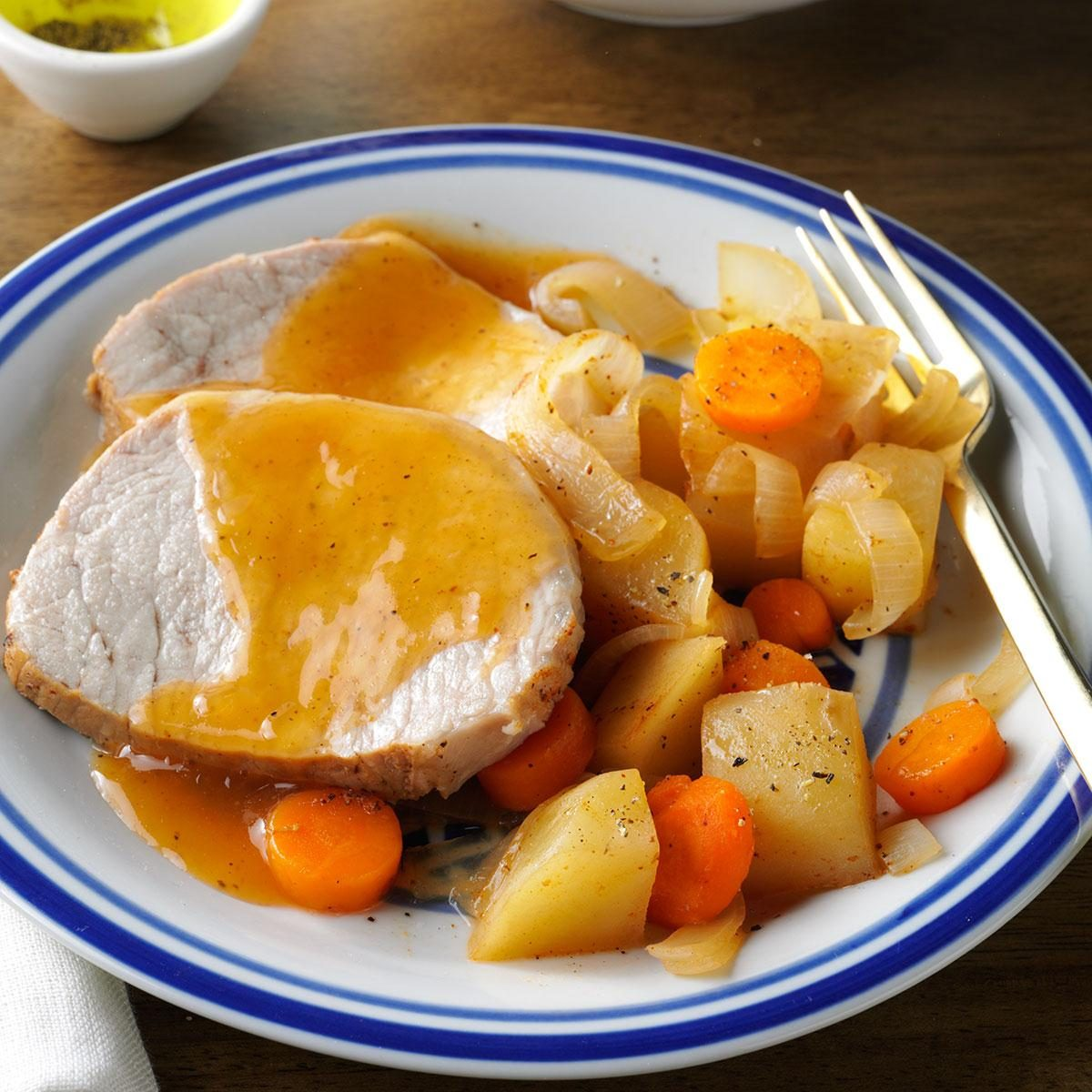 Slow Cooker Dinners: Slow-Cooked Pork Roast Dinner Recipe