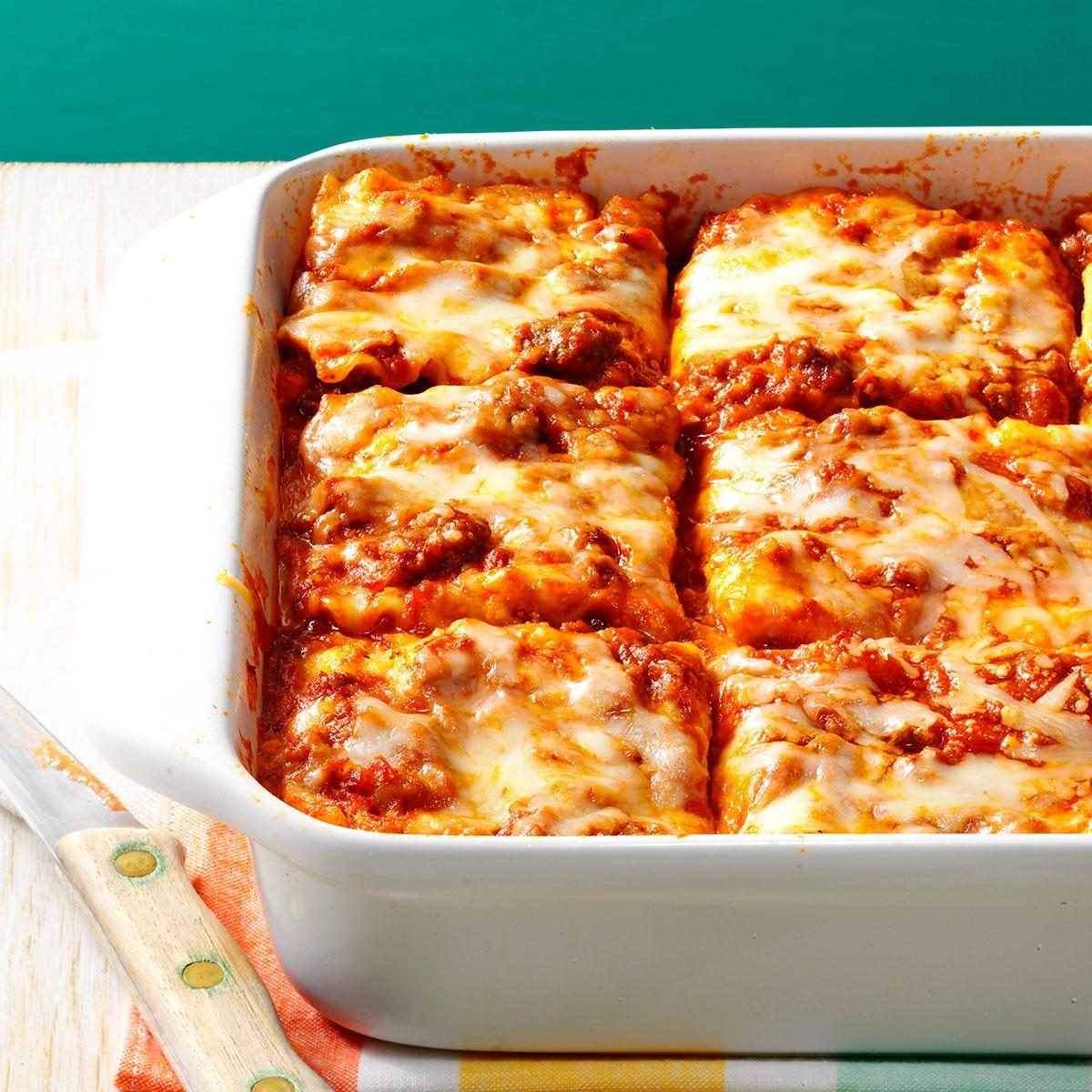 Make Once, Eat Twice Lasagna Recipe