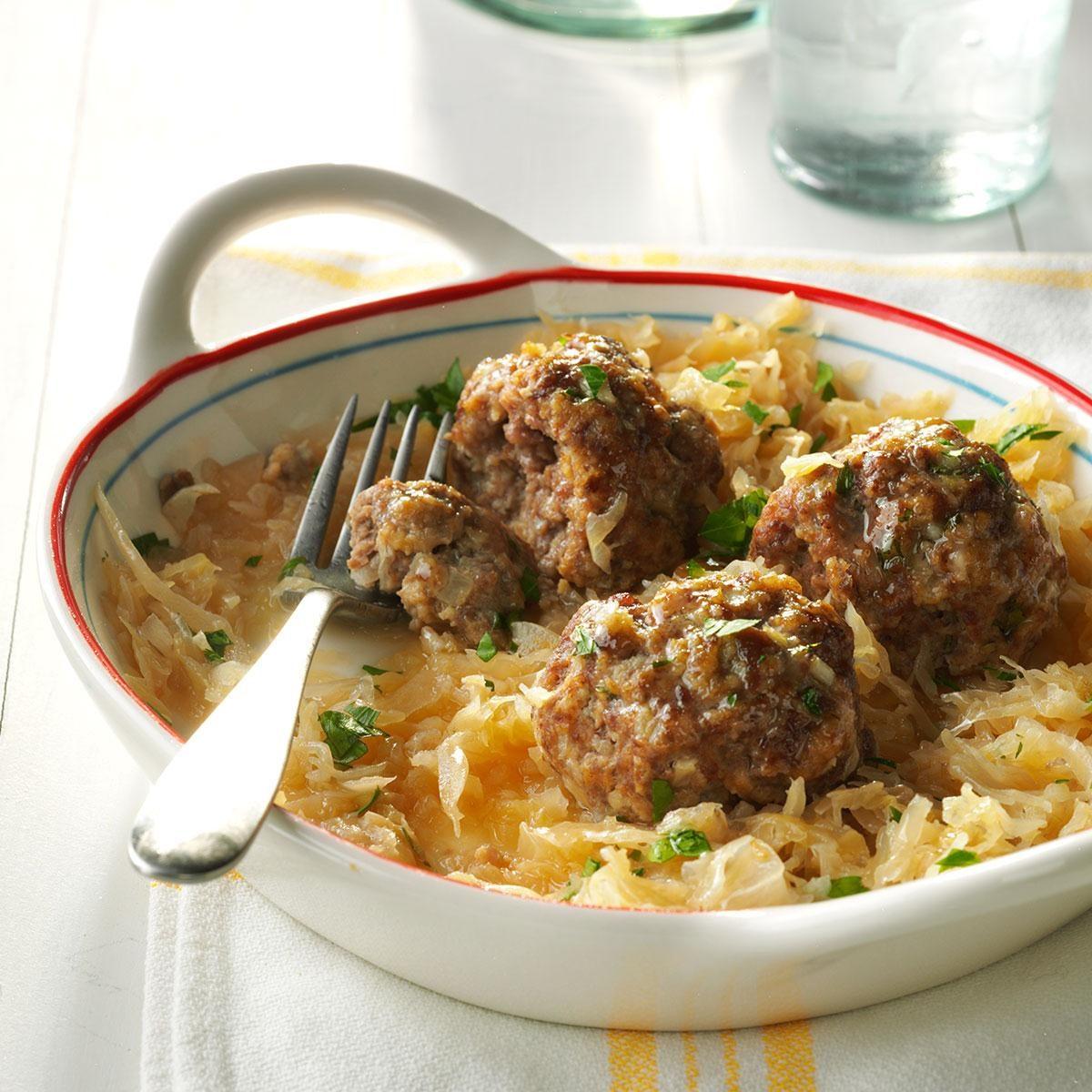 German Meatballs Recipe
