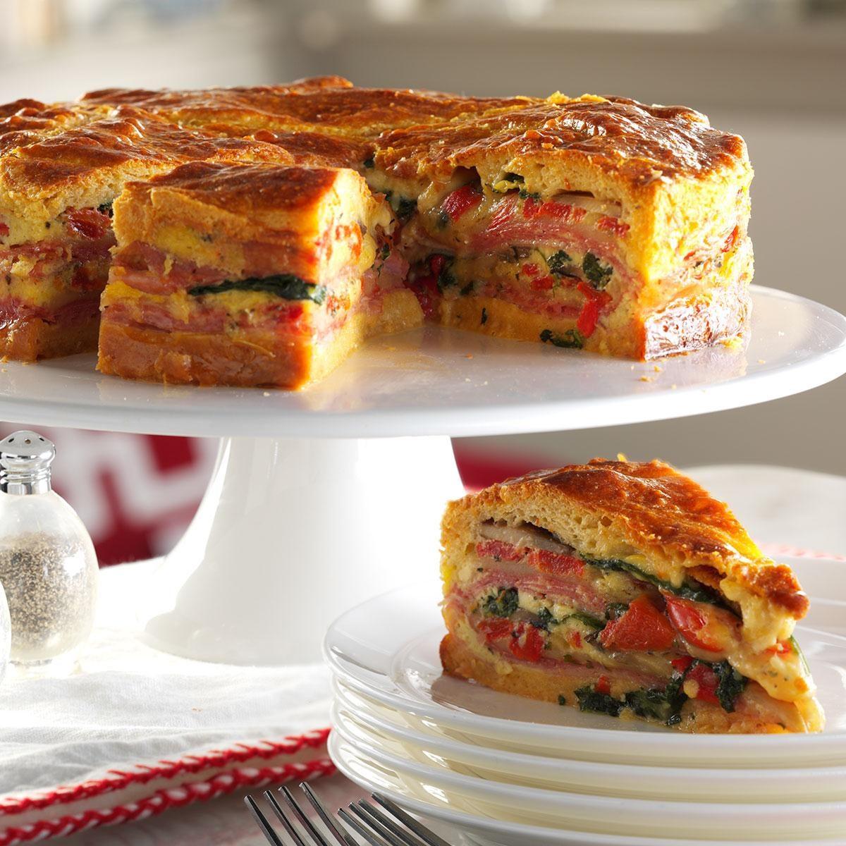 Italian Brunch Torte Recipe | Taste of Home