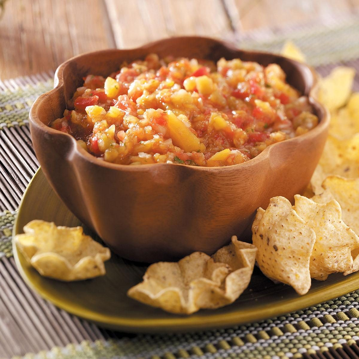 Fresh Peach Salsa Recipe | Taste of Home