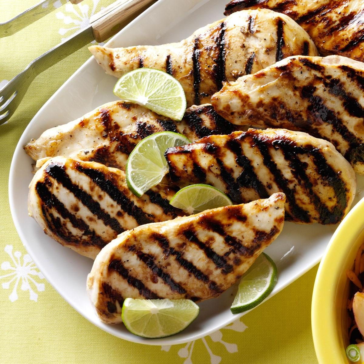 Grilled Honey-Lime Chicken Recipe | Taste of Home