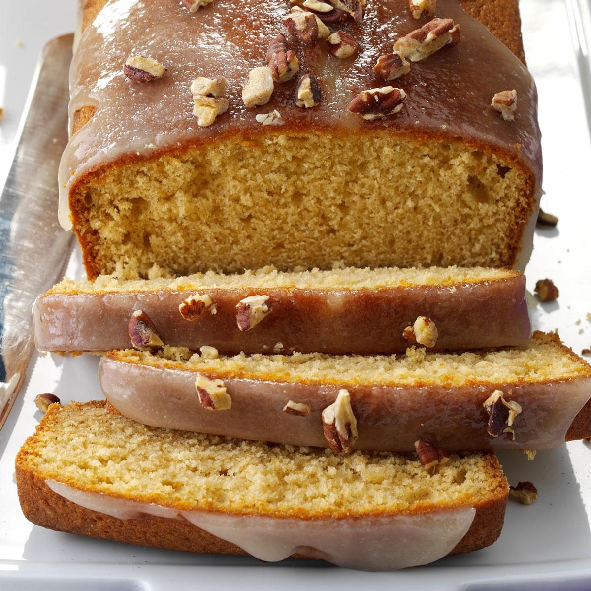 Glazed Spiced Rum Pound Cakes Recipe | Taste of Home
