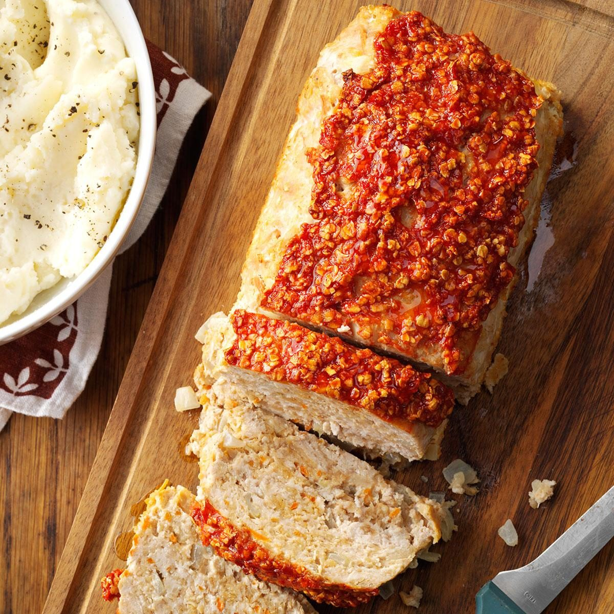 65 heart healthy suppers taste of home turkey meat loaf forumfinder Choice Image