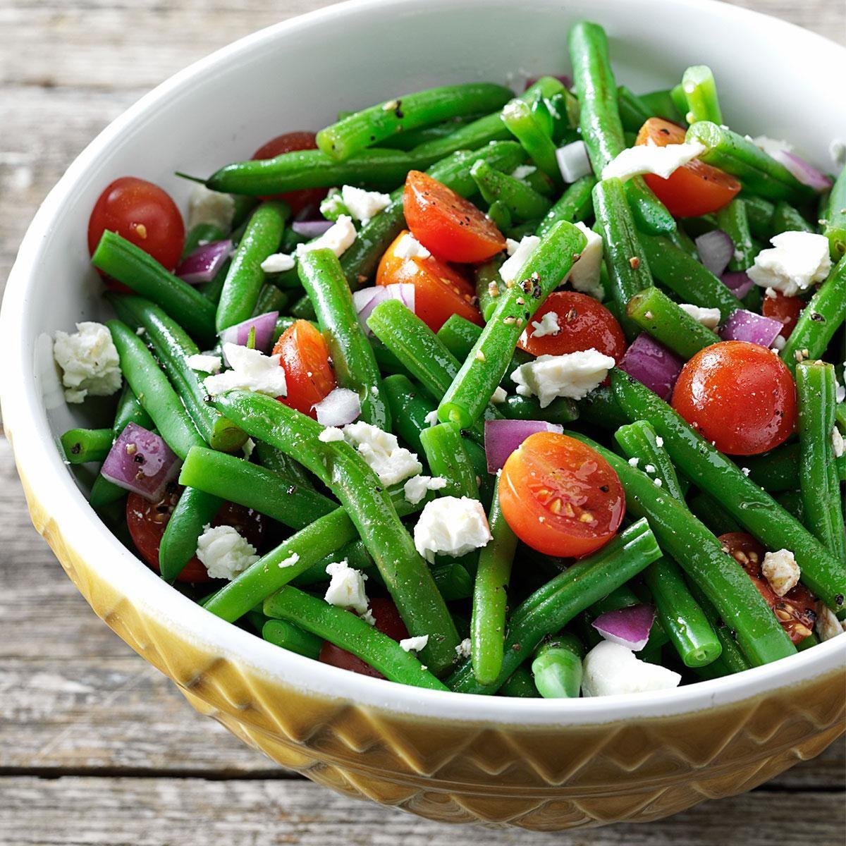 Italian Green Bean Salad Cold