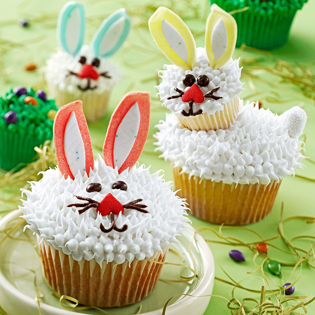17 recipes for easter cupcakes taste of home