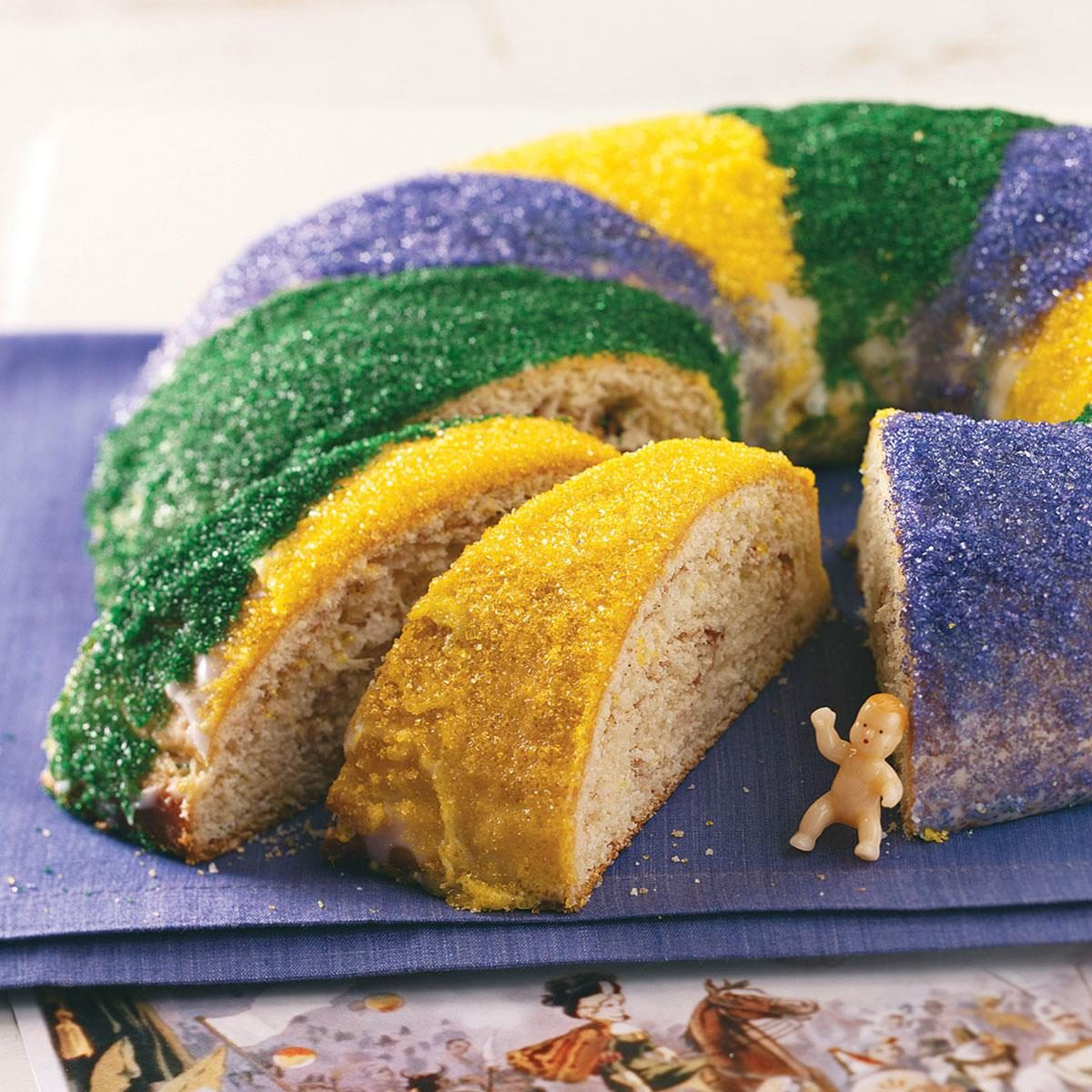 Real New Orleans King Cake Recipe