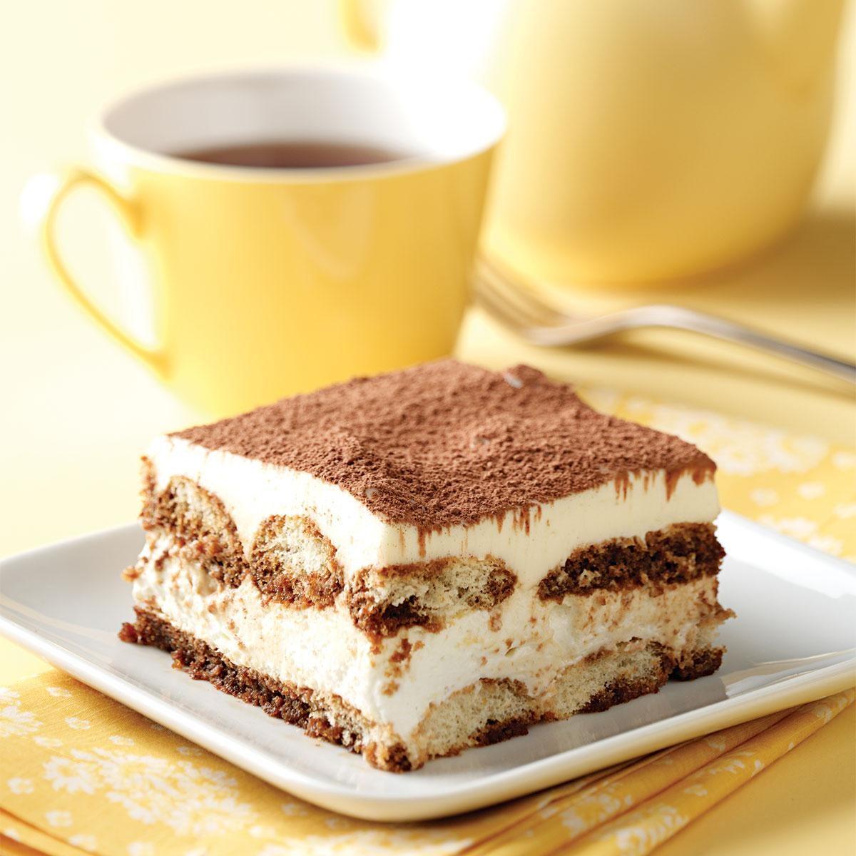 Make-Ahead Tiramisu Recipe | Taste of Home