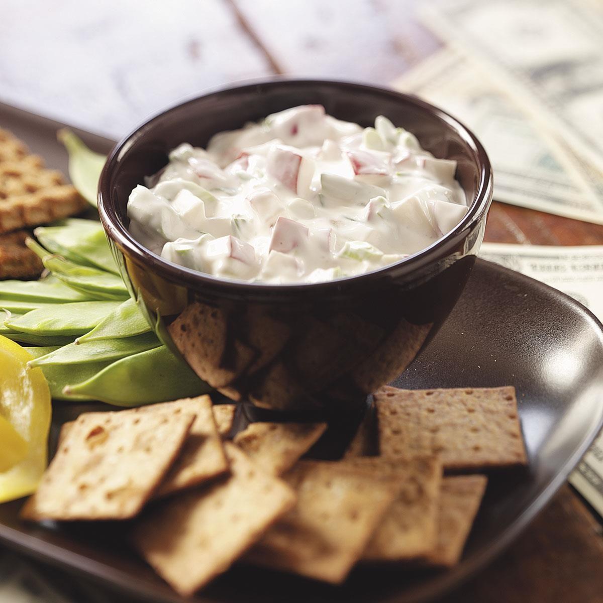 Creamy Radish Dip Recipe | Taste of Home