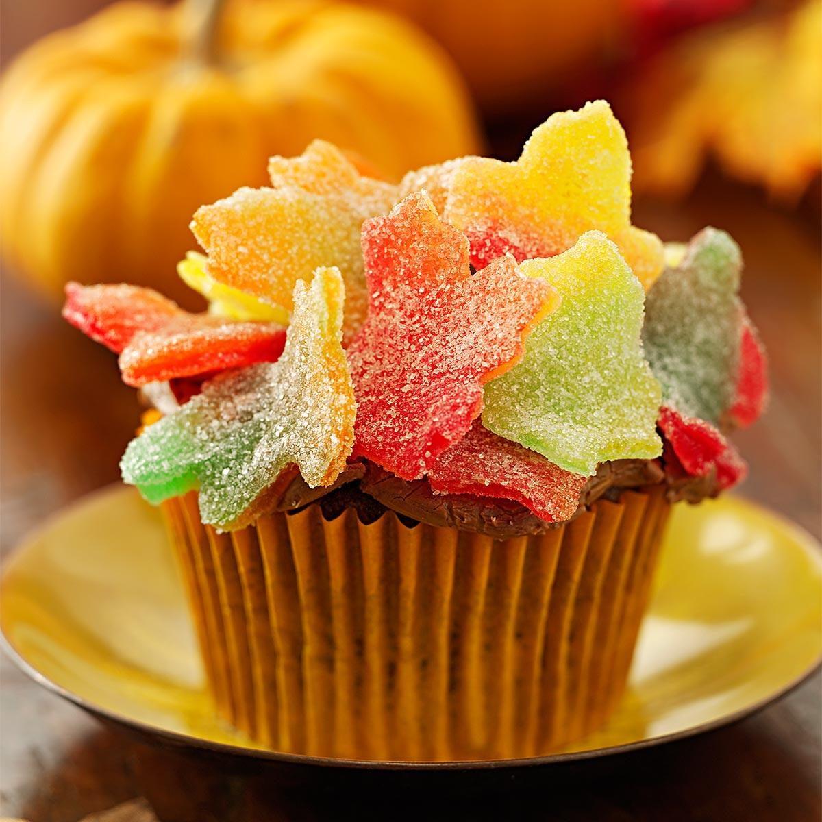 Autumn Leaves Cupcakes Recipe Taste Of Home