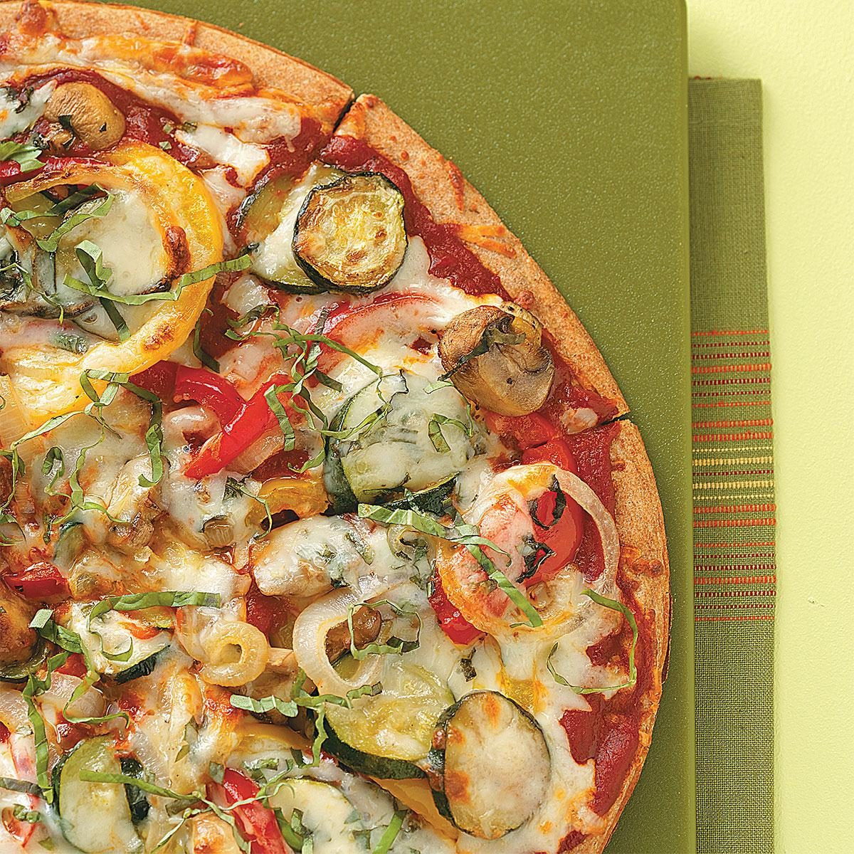 Grilled Veggie Pizza Recipe | Taste of Home