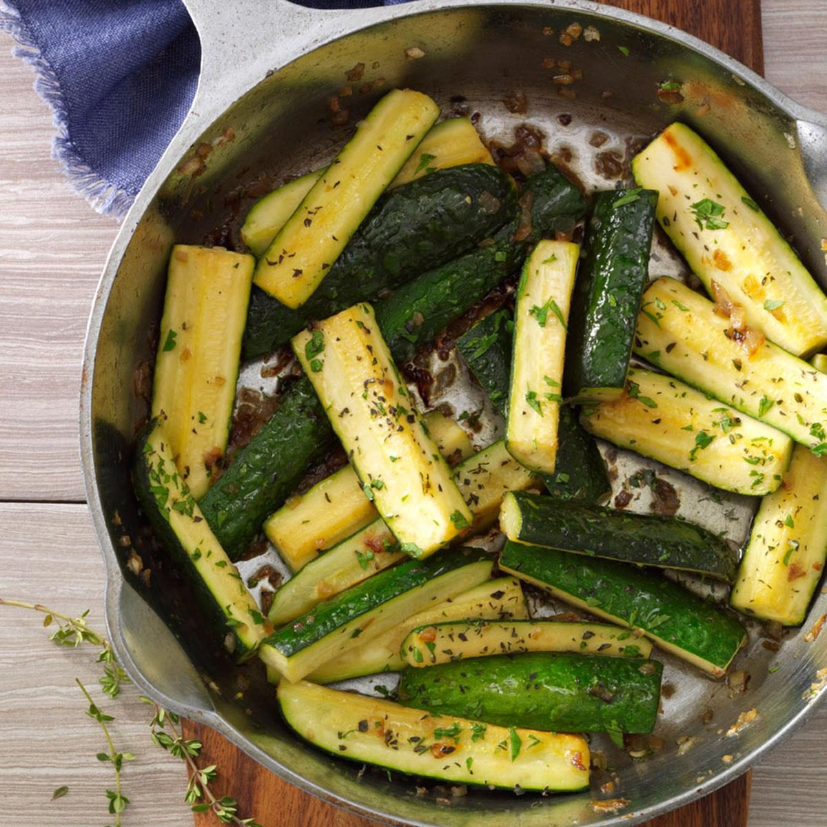 how to make zucchini on stove top