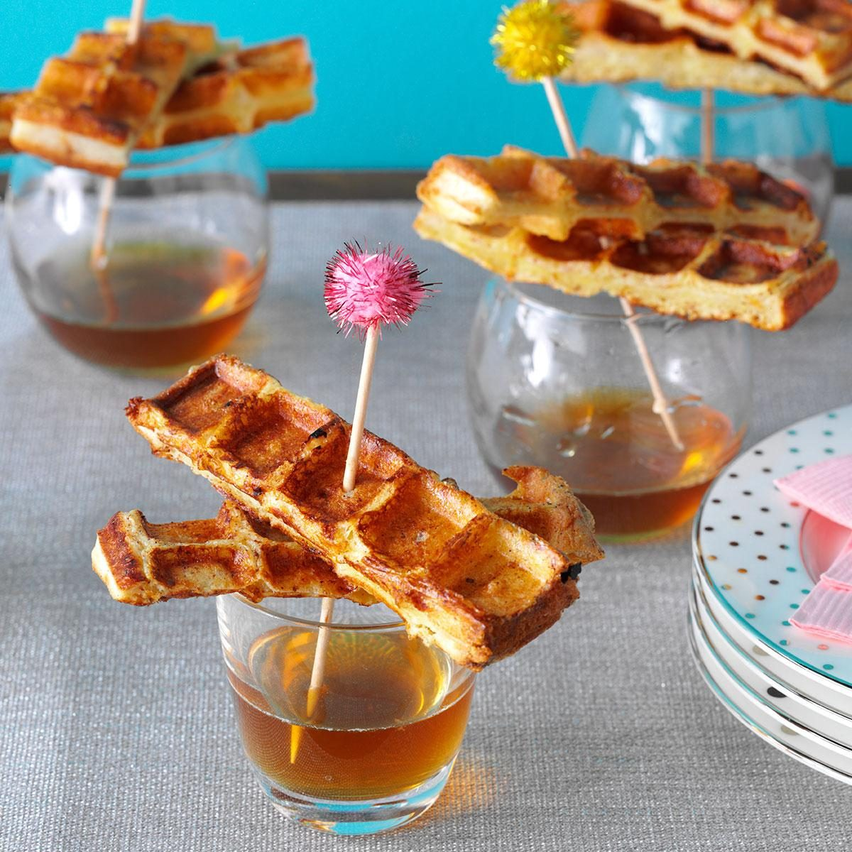 French Toast Waffles Recipe | Taste of Home
