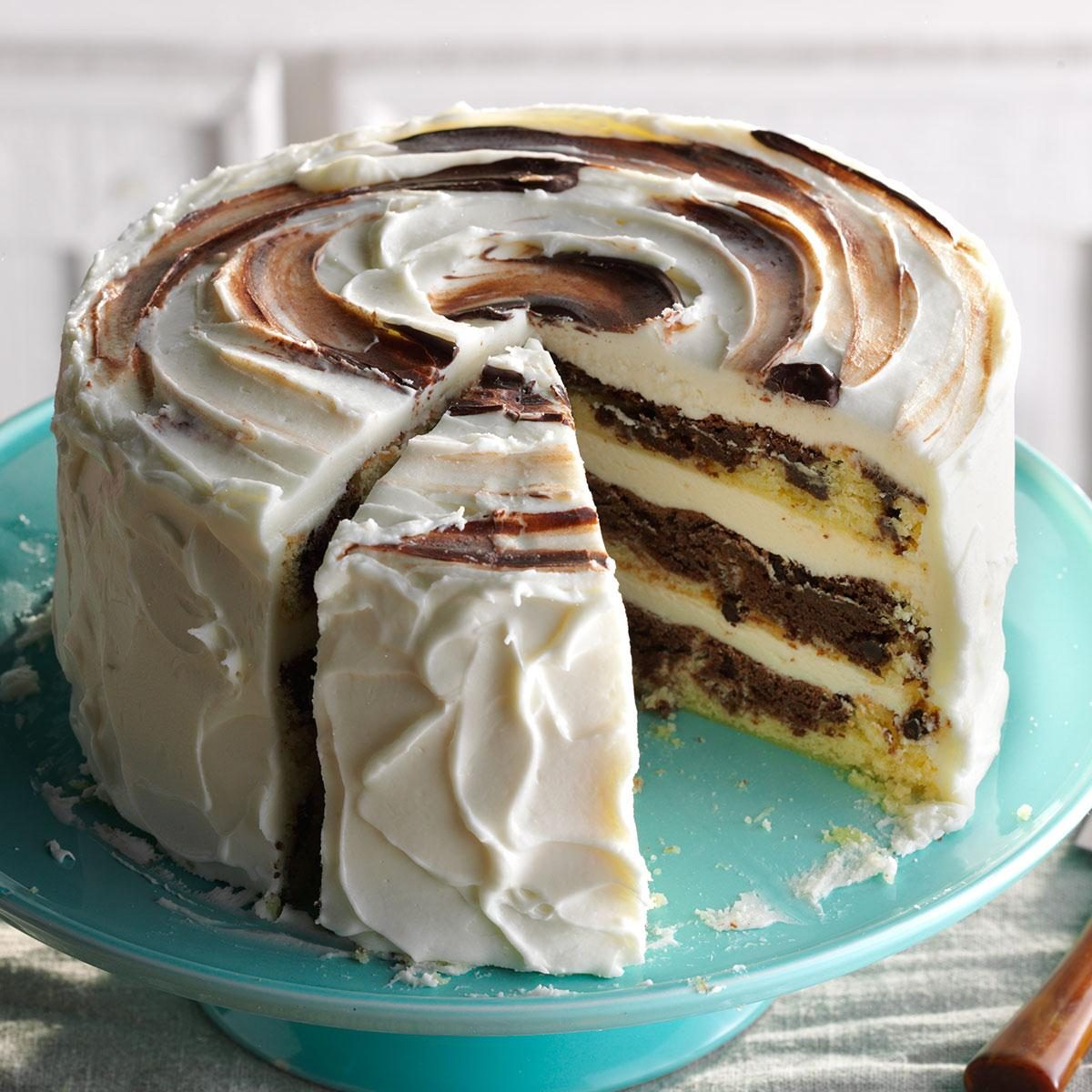Marvelous Marble Cake Recipe Taste of Home