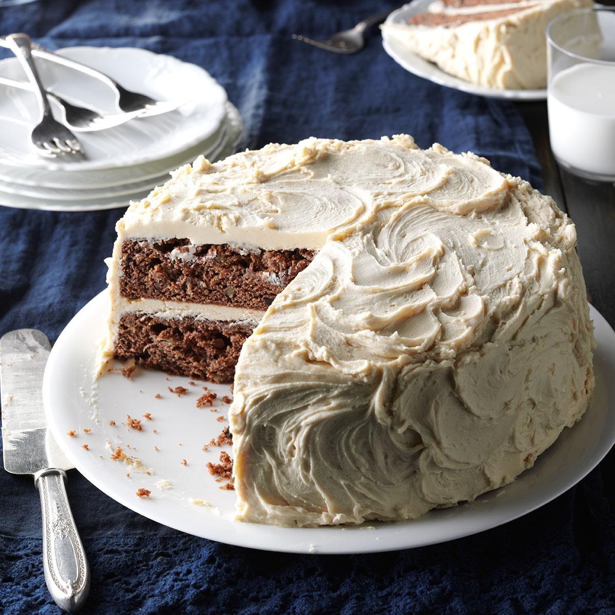 Aunt Murna S Jam Cake Recipe Taste Of Home