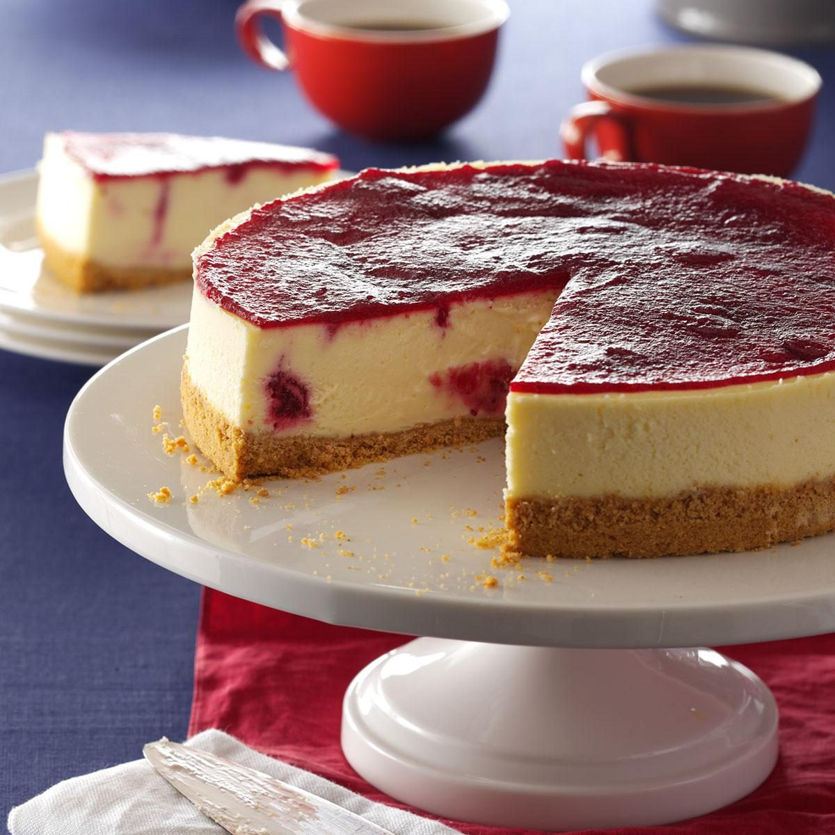 Cranberry Cheesecake Recipe | Taste of Home