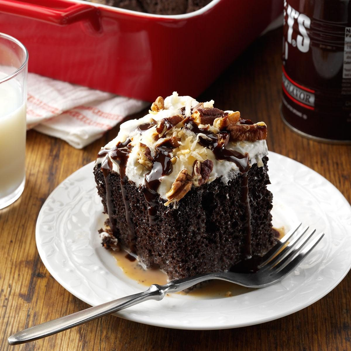 German Chocolate Tres Leches Cake Recipe | Taste of Home