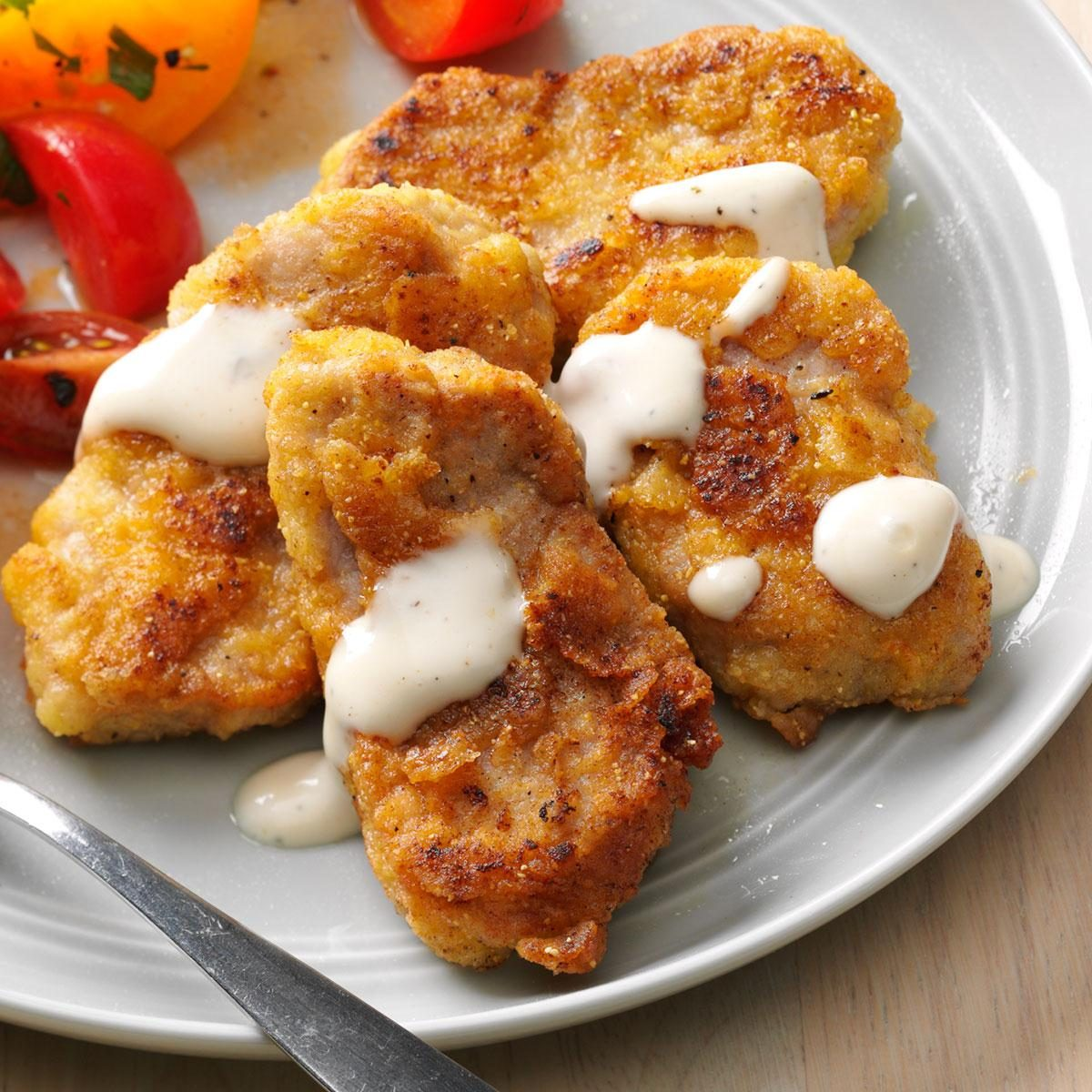how to cook frozen breaded pork tenderloin