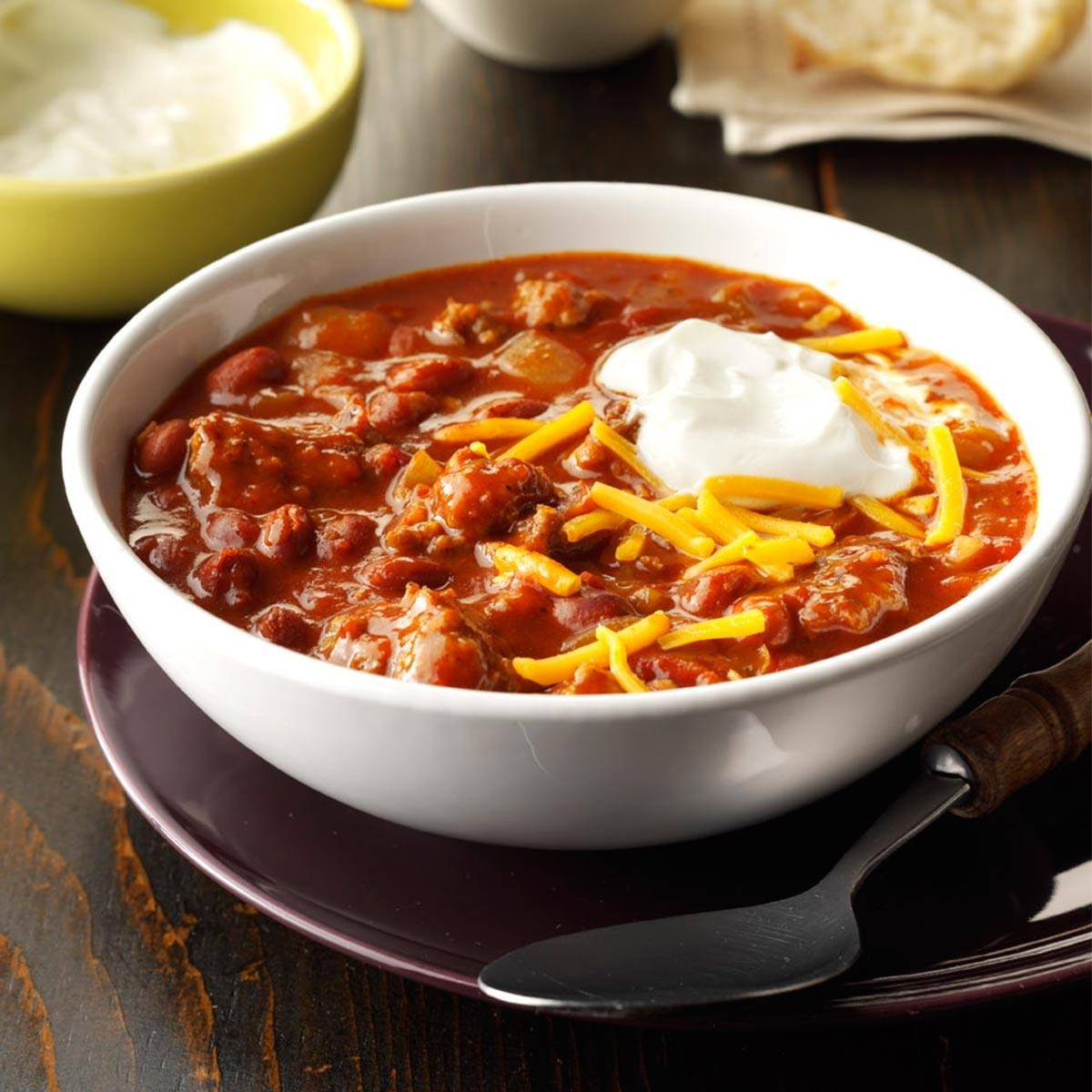 Quick Pork Chili Recipe Taste Of Home