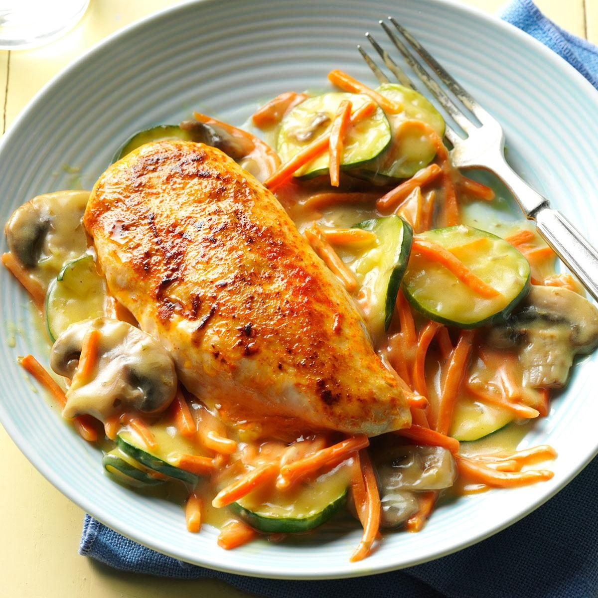 Stovetop Tarragon Chicken Recipe
