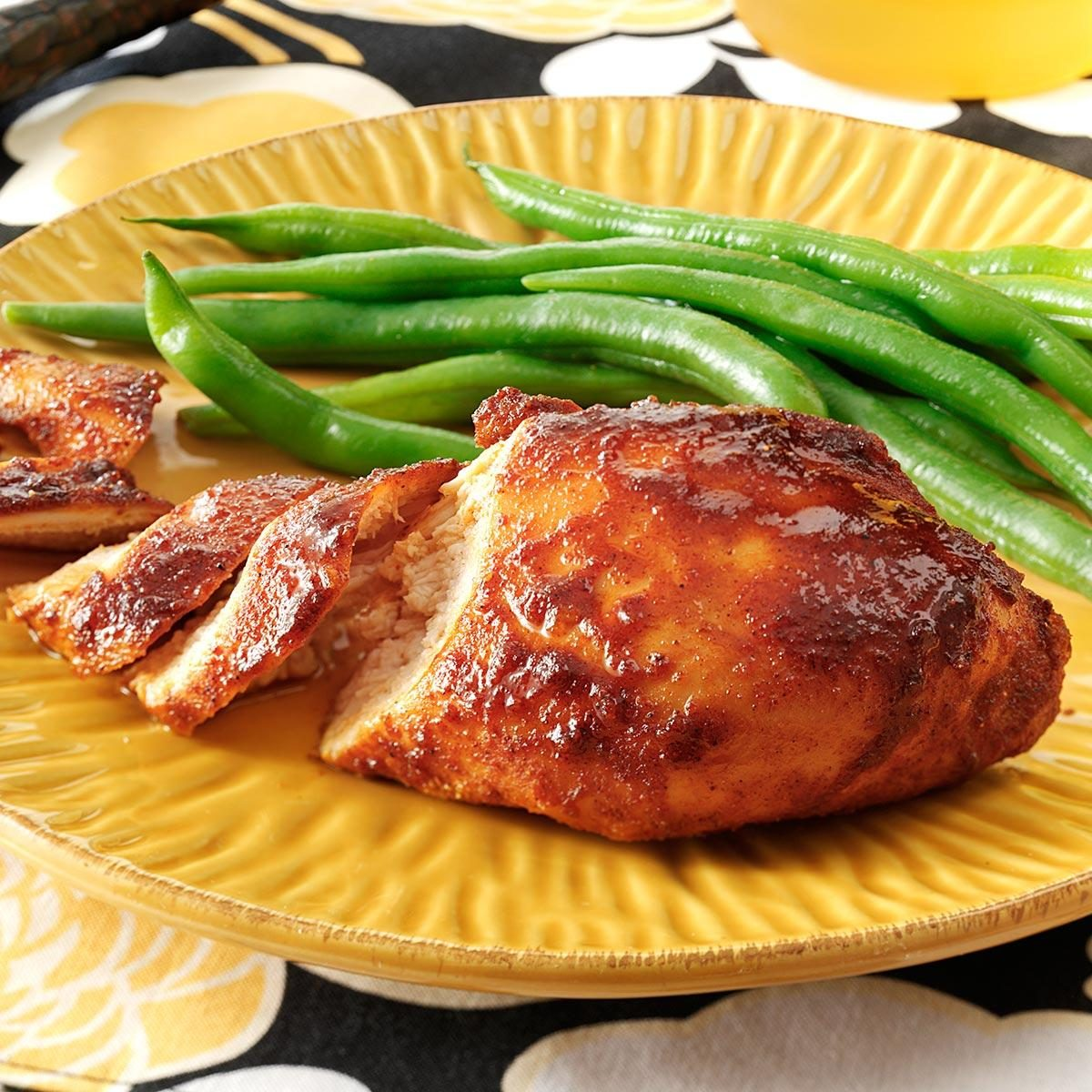 Easy Chicken Breast Recipes For A Crowd: Honey & Spice Baked Chicken Recipe