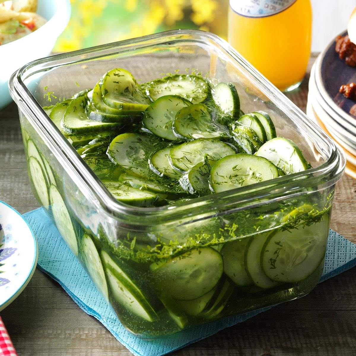 Mini Cucumber Caterpillars Recipe: Fresh Cucumber Salad Recipe