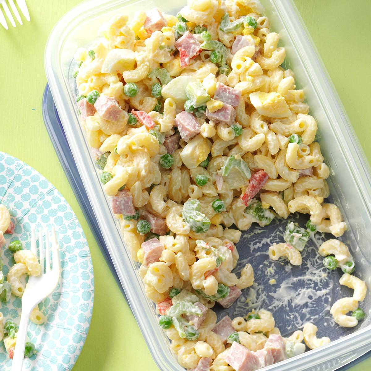 Easy Macaroni Salad Recipe Taste Of Home