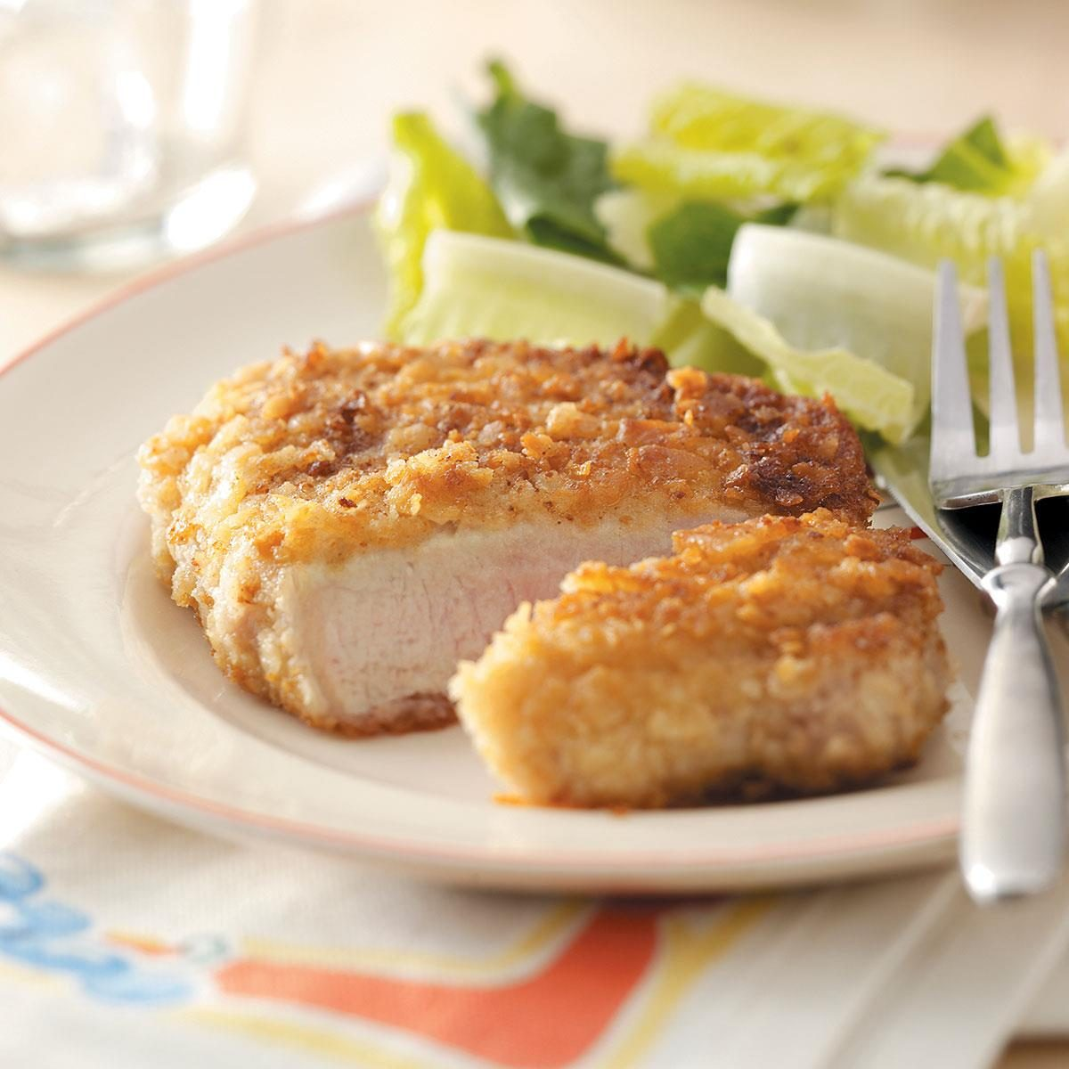 Breaded Pork Chops Recipe | Taste of Home