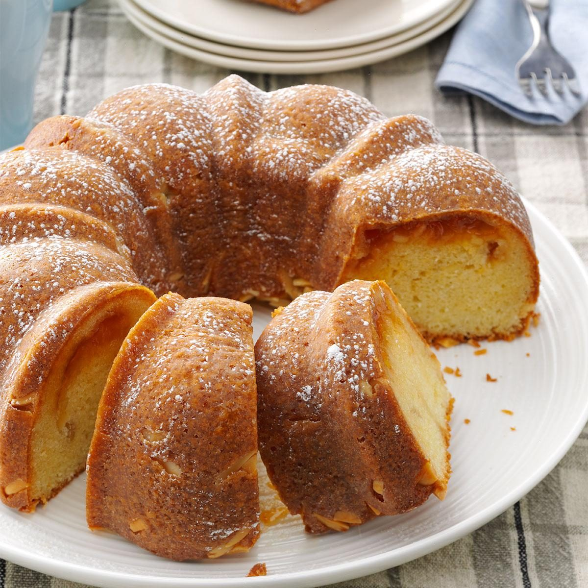 Almond Apricot Coffee Cake Recipe