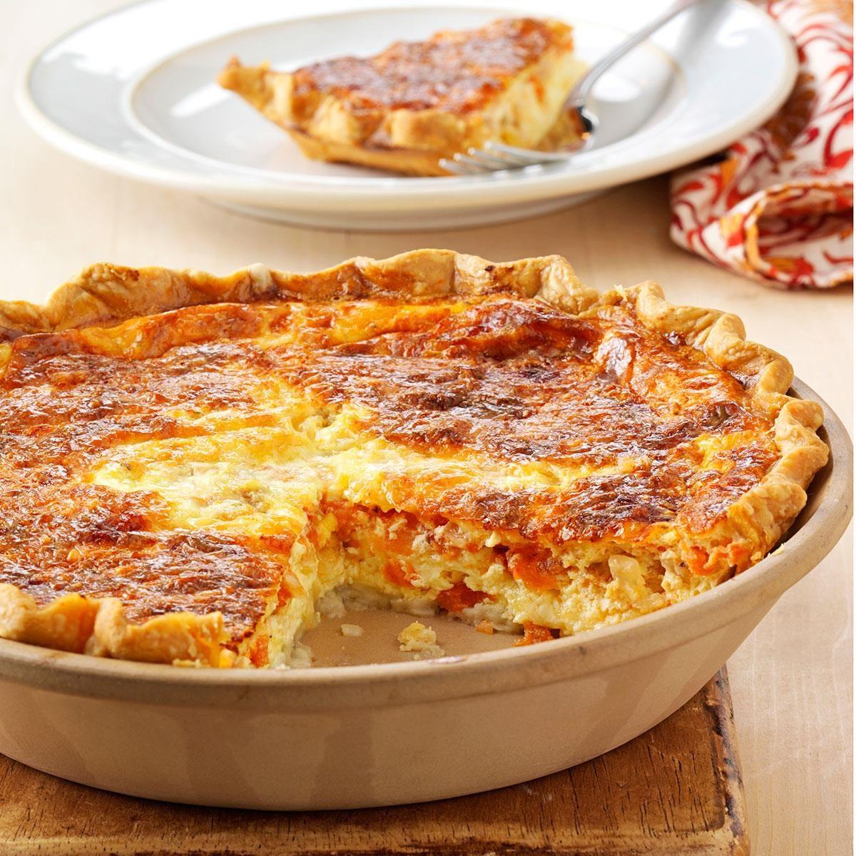 Tomato Quiche Recipe Taste Of Home
