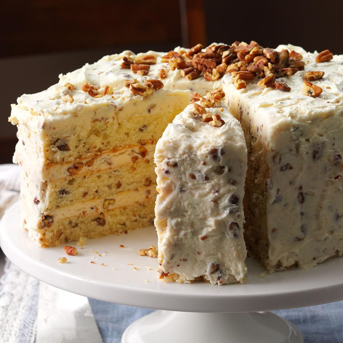 Pecan Coffee Cake With Cake Mix