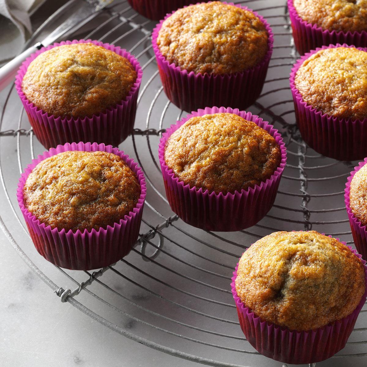 Basic Banana Muffins Recipe