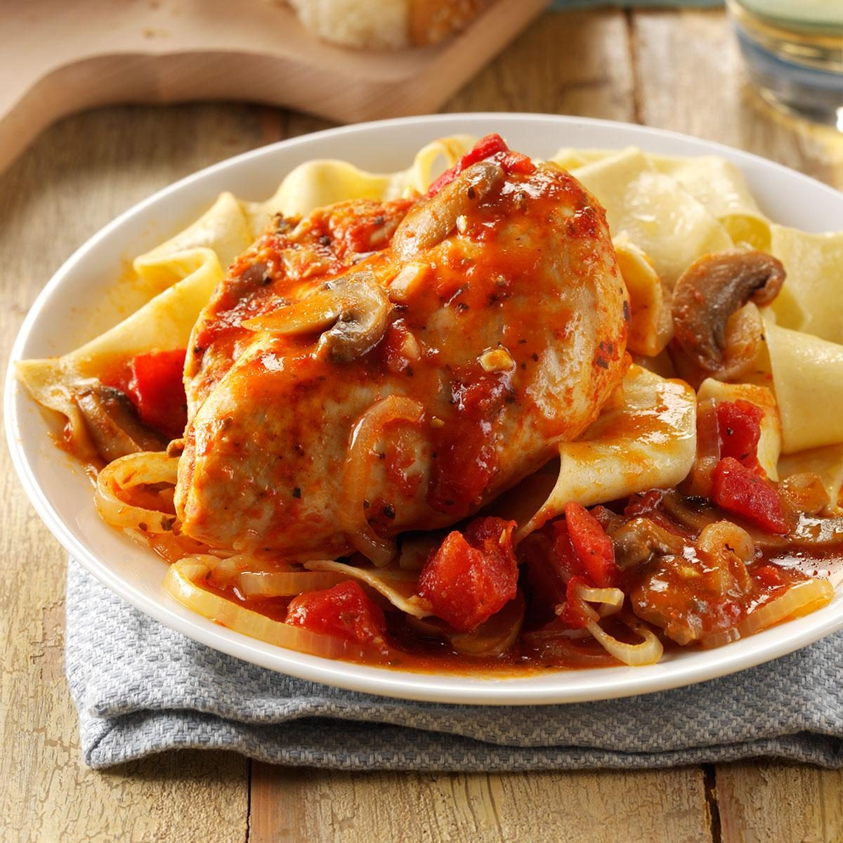 Contest-Winning Chicken Cacciatore Recipe | Taste of Home